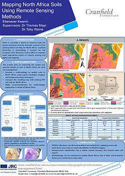 Kwanin. Mapping North Africa Soils Using Remote Sensing Methods