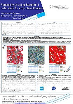 Osborne. Feasibility of using Sentinel-1 radar data for crop classification
