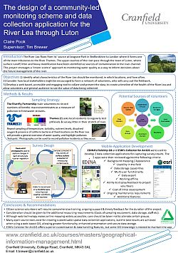 Pook. The design of a community-led water quality monitoring scheme and data collection application for the River Lea through Luton